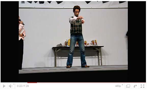 東京ラーメンショー2010の「エア湯切り選手権」に参加してみた