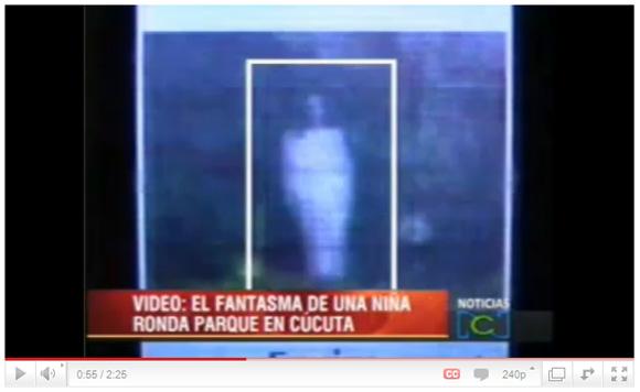 白装束の女幽霊を大勢の人が同時目撃、動画も撮影!