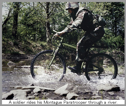 超タフな軍用折り畳み自転車「Paratrooper」