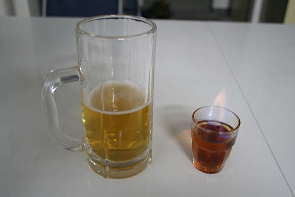 ビールをドクターペッパーの味にする方法