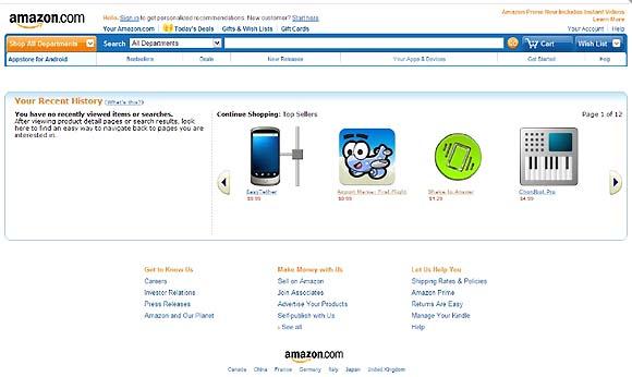 3月22日、アマゾンがAndroidアプリケーションの販売を開始