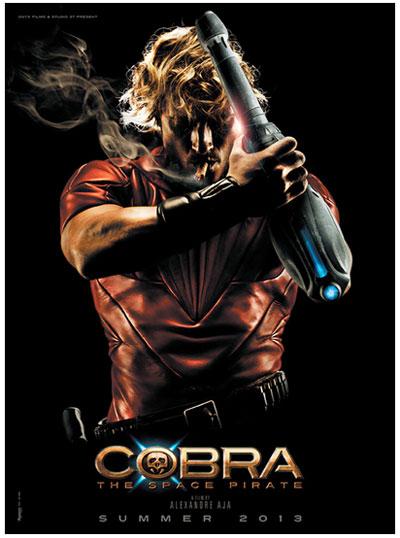 実写版『コブラ』のポスターが激カッコ良すぎると話題に