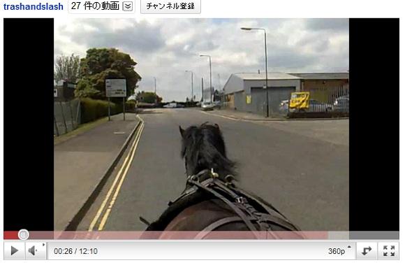 マックのドライブスルーで門前払いされた馬 / 一部始終を動画で撮影