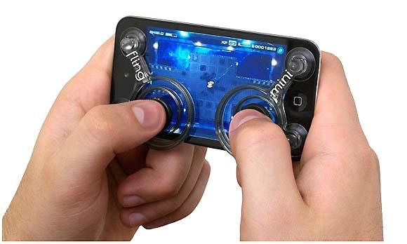 これは絶対イイ! iPhone用の取り付け式ゲームボタン