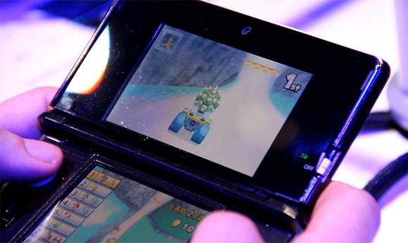 【E3現地取材】3DS用『マリオカート』をプレイしてみた!