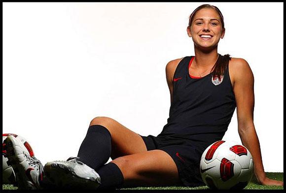 サッカー米女子代表アレックス・モーガン(Alex Morgan)選手も美しすぎると話題