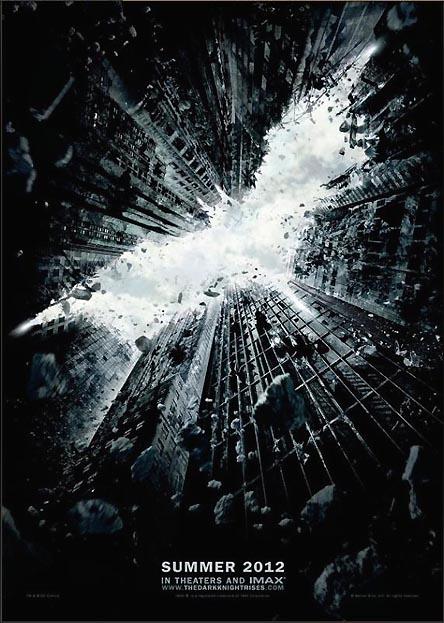 2012年公開予定『バットマン』のポスター登場! 白黒でカッコイイぞ!