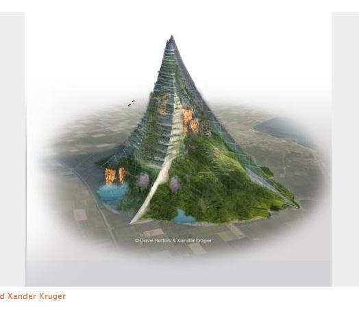 世界初!オランダで山を作る計画が浮上