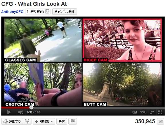 女は男のどこを見ているのかチェック! 隠しカメラが捉えた女性の視線