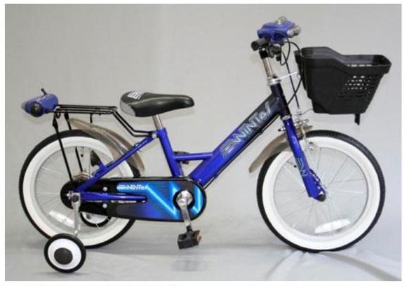 宇宙キター! 宇宙船をイメージした安全性バツグンのウィンカー付幼児用自転車が登場!