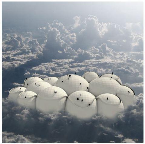 目的地のない旅へ出かけよう! 風の吹くままに旅をする雲型旅行機がなんともステキ