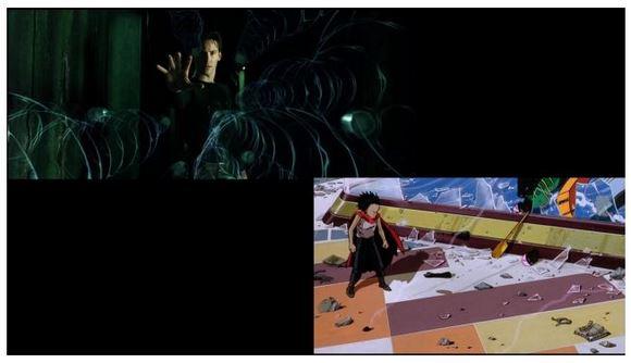 『攻殻機動隊』など映画『マトリックス』に影響を与えた作品の検証動画がスゴイ!