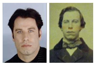 生まれ変わりを信じる? ハリウッドスターのジョン・トラボルタの「前世写真」がオークションに出品されていた