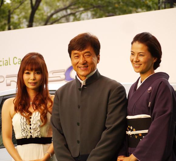 東京国際映画祭にジャッキー・チェンがキター! 日本にエール「みんながんばってね」