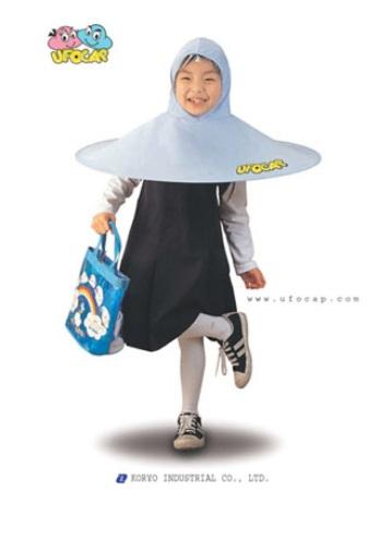 韓国発、史上最強の雨具「UFO CAP」 / メーカー「世界で初めて開発に成功」