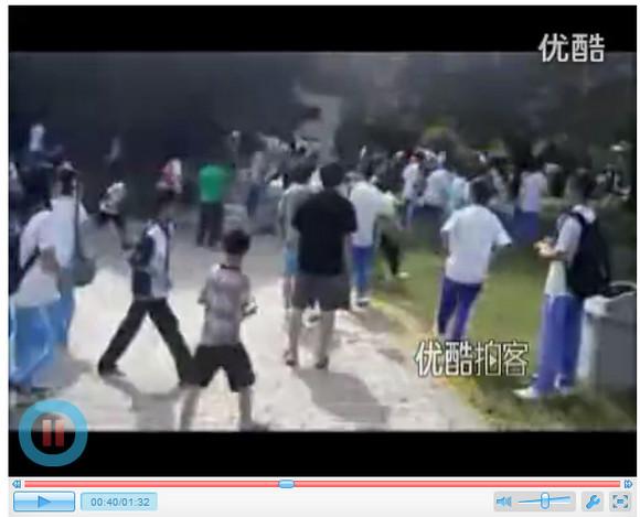 中国、列に並んでいる際の小競り合いから中高生800人以上の大乱闘に