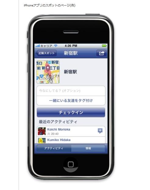 facebookのチェックイン機能はアリバイ工作に大活躍らしい!