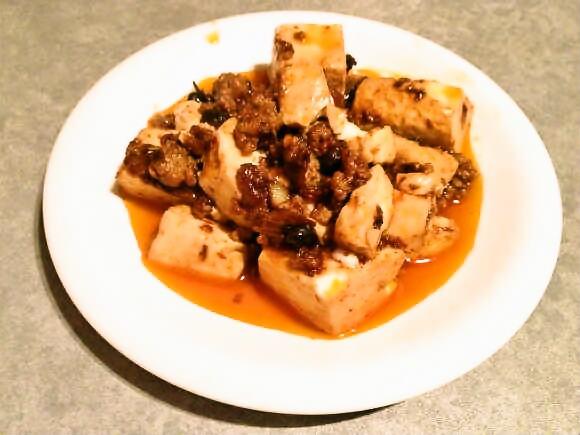伝説のラー油「ラオガンマー(老干媽)」でマーボー豆腐を作ってみた / 辛味が効いててやっぱうめぇぇぇ!!
