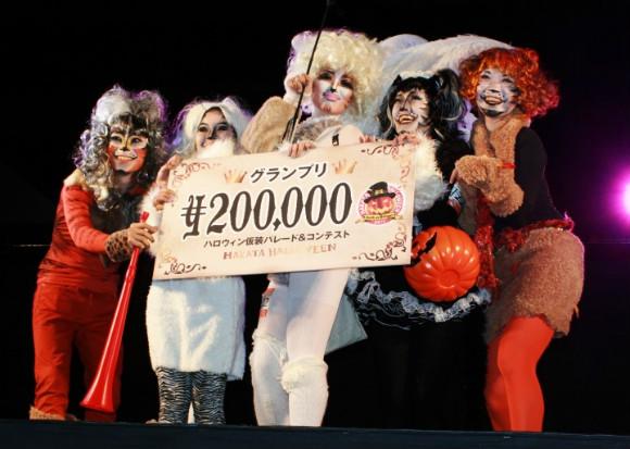 博多ハロウィン仮装コンテスト、賞金もあって結構イケてるイベントだった!