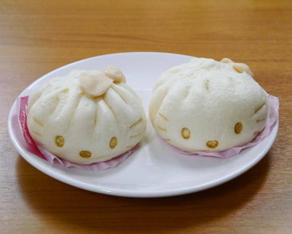 仕事を選ばないキティさんが「中華まん」になったぞ~! 食べるのが惜しいほど可愛いよ!!