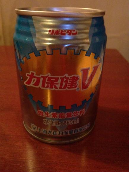 【世界エナジードリンク事情】中国には「リポビタンV」があるのですよ / DでなくV、しかもほんのり菊フレーバー