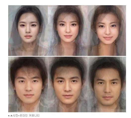 日中韓「芸能人の平均顔」画像が話題に / 各国ネットユーザー「うちの国が一番イケてる」