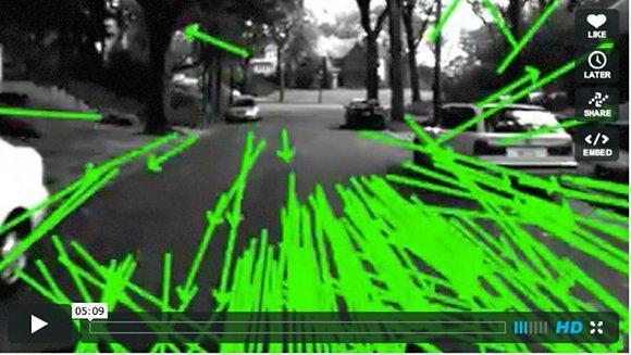キミは常に監視されている! ロボットたちの精巧な「視覚」を集めた動画が話題に