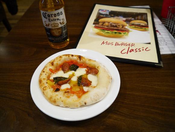 限定1店舗でしか食べられない「モス」のピザが安くて激ウマ / 全国で販売すればいいのに~ッ