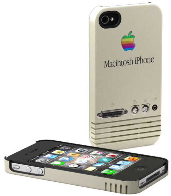 これは完ッ全に欲しい! オールドMacファン感動のiPhoneケース / ベージュも、スケルトンも!