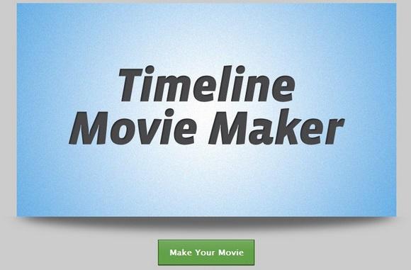 あなたのFacebookタイムラインを映画化してくれる「Timeline Movie Maker」が超おススメ!