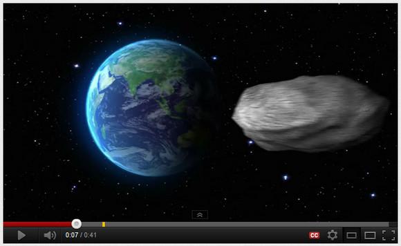 人類ピンチ!? 2040年に小惑星が地球に衝突するかもしれない