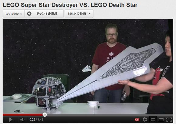【スターウォーズ】デス・スター VS スーパー・スター・デストロイヤー夢の対決! その衝撃の結末とは