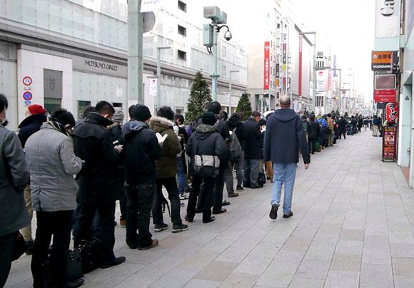 【新しいiPad】銀座では行列ができてたけど量販店はどうなのか? 在庫状況を聞いてみた
