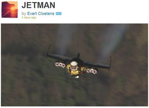 これぞまさにヒーローの姿! 大きな翼で空を自由に駆け回る「JET MAN」がカッコよすぎる