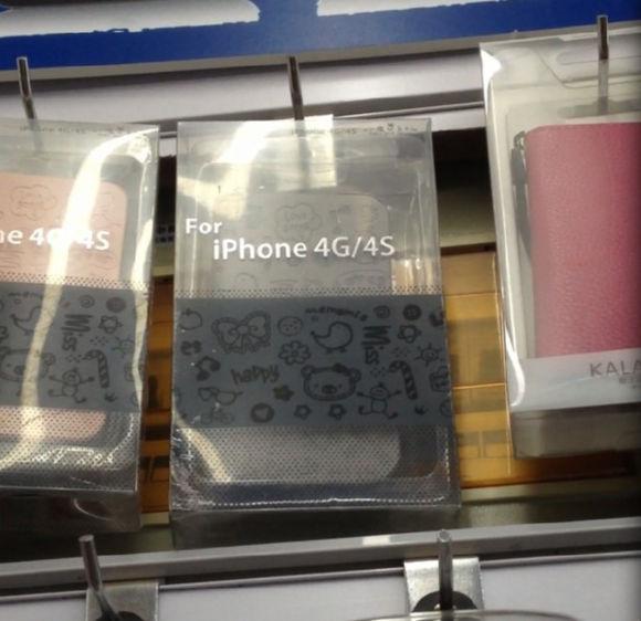 中国ではiPhone4Sが発売される前に「iPhone4G」が発売されていた模様