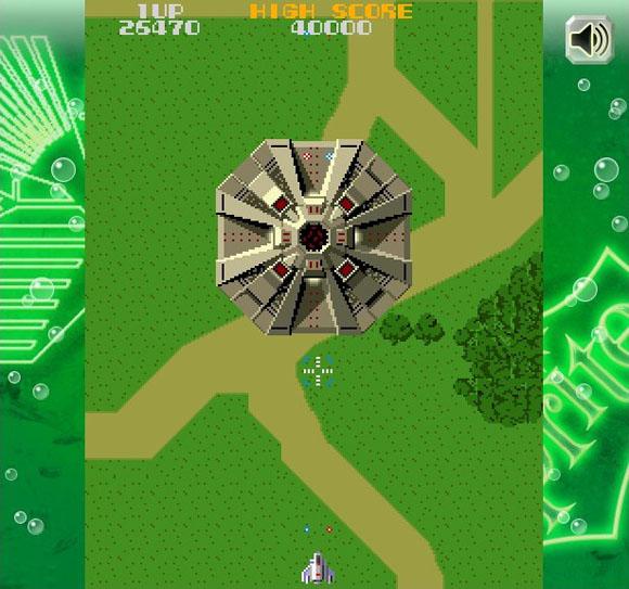 【ファミコン速報】ネット上でゼビウスが無料で遊べるぞッ! しかも自機無限