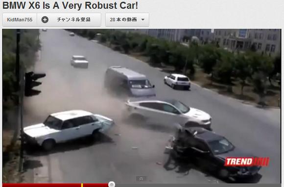 タフすぎる! BMWの頑丈さが一瞬でわかる交通事故映像が話題に