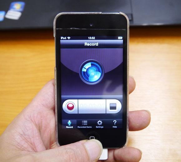 iPhoneの操作説明に最適! 画面録画アプリ『Display Rec』が素敵ッ