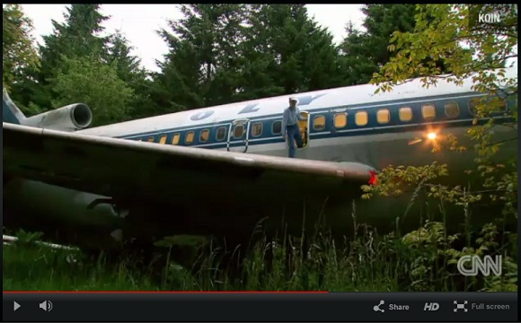 航空機・ボーイング727を改造して夢のマイホームにした男
