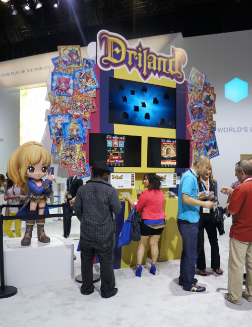 E3のGREEブースに英語版『探検ドリランド』があったので率直に聞いてみた! 「英語版はコンプガチャですか?」
