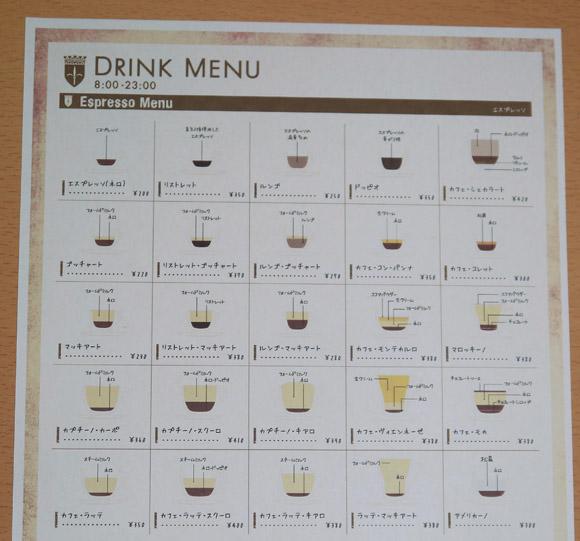 【コーヒー好き必見】東京・神楽坂のカフェの「メニュー」が超わかりやすい! すべてのコーヒーショップでおいて欲しいレベル