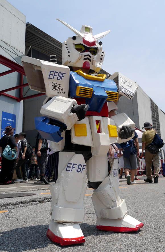 【ワンフェス2012夏】世界一かわいいガンダム発見!!
