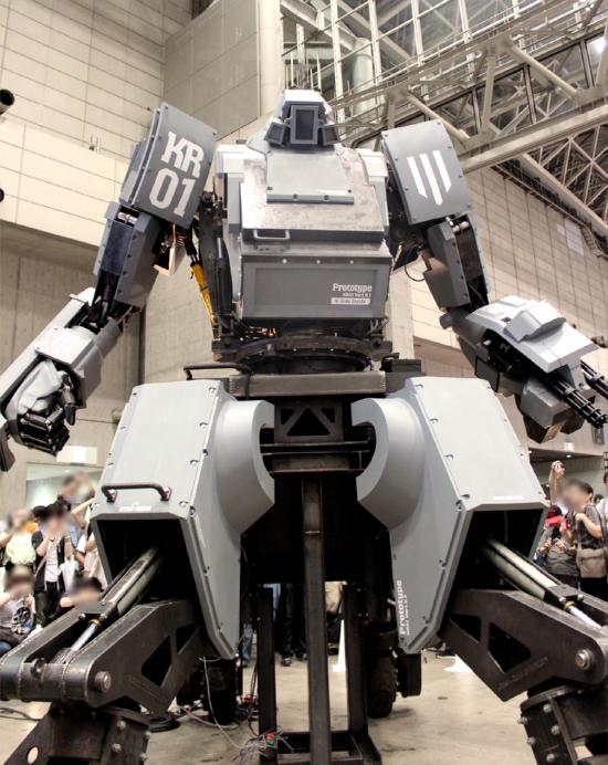 未来キター!! 人が乗って操縦できる巨大ロボ「クラタス」がついにお披露目! なんと販売も開始