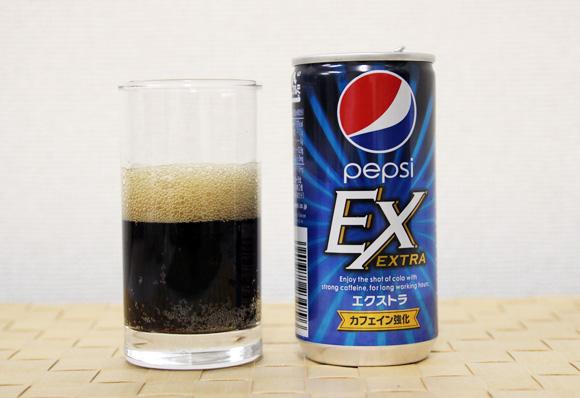 【エナジー批評】カフェイン2倍の『ペプシEX(ペプシエクストラ)』はエナジードリンクにあらず