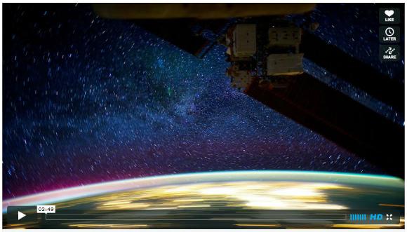 人生で一度でいいから見てみたい! 圧倒されるほど壮絶に美しい宇宙動画が世界で話題に