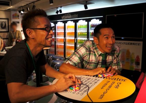 為末さんと懐かしの「オリンピックゲーム」で対戦!! 手加減一切なしで笑った