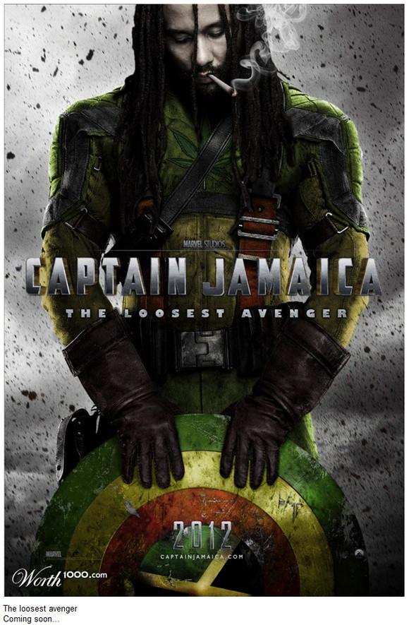 『キャプテン・ジャマイカ』の予告編ポスターが自然体でカッコイイ