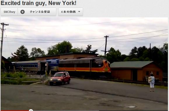 【情熱的感動映像】海外の鉄道ファンの興奮っぷりがハンパないと話題に
