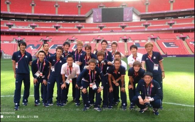 【ロンドン五輪】サッカー男子日本代表が仲良く写ってる写真を清武選手がTwitterでアップ!
