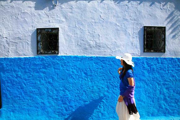 「静寂」と「清涼」がこだまする モロッコ・シャウエンの街並み